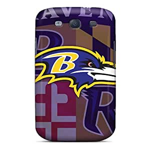 Top Quality Protection Baltimore Ravens Case Cover For Galaxy S3