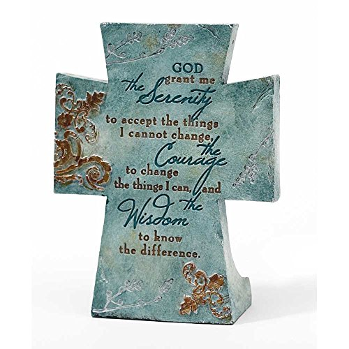 Serenity Prayer Filigree Resin Decoration product image