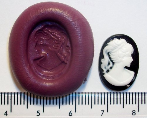Cameo Moulds - Silicone Mould Mini Cameo Icing Cake Cupcake Decoration