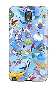 Ectgcjr15771DGRBB Anti-scratch Case Cover ZippyDoritEduard Protective Pokemon Case For Galaxy Note 3