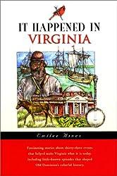 It Happened in Virginia (It Happened In Series)