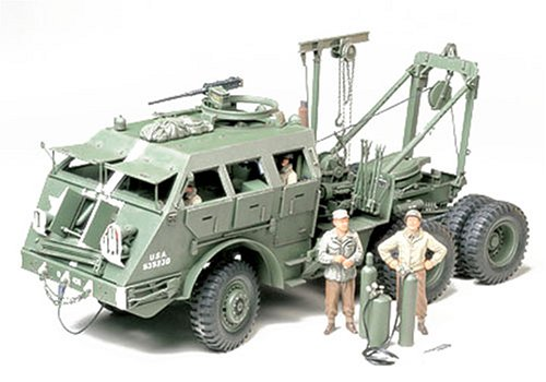 Tamiya 1 35 M26 Tank Recovery Vehicle   35244