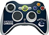 NHL Vancouver Canucks Xbox 360 Wireless Controller Skin - Vancouver Canucks Distressed Vinyl Decal Skin For Your Xbox 360 Wireless Controller