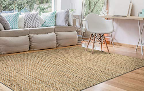 Couristan Nature's Elements Desert Area Rug, 6' x 9', Natural/Camel