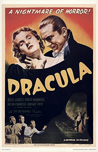 Old Tin Sign Dracula Classic Vintage Movie Poster MADE IN TH