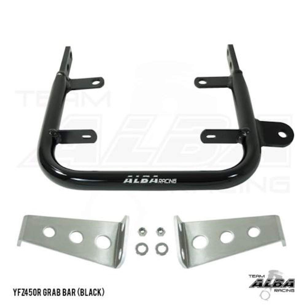 2009-2017 ATV Rear Grab Bar Bumper Yamaha YFZ 450R Ebony 2010-2011 and YFZ 450X