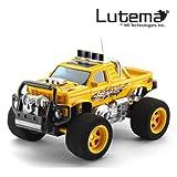 Lutema Blaze Truck 4CH Remote Control Truck, Yellow