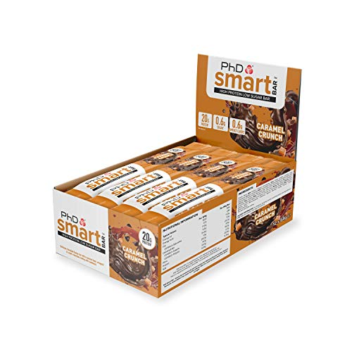PHD Smart Bar Caramel Crunch 12x64g