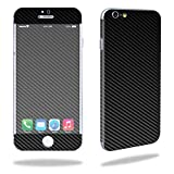 """MightySkins Protective Vinyl Skin Decal Cover for Apple iPhone 6/6S Plus 5.5"""" Cover Sticker Skins Carbon Fiber"""