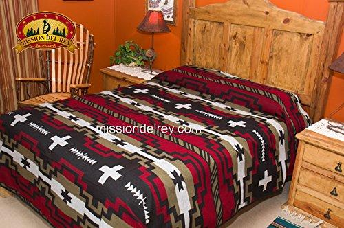Mission Del Rey Southwest Bedspread -Laguna Pattern TWIN
