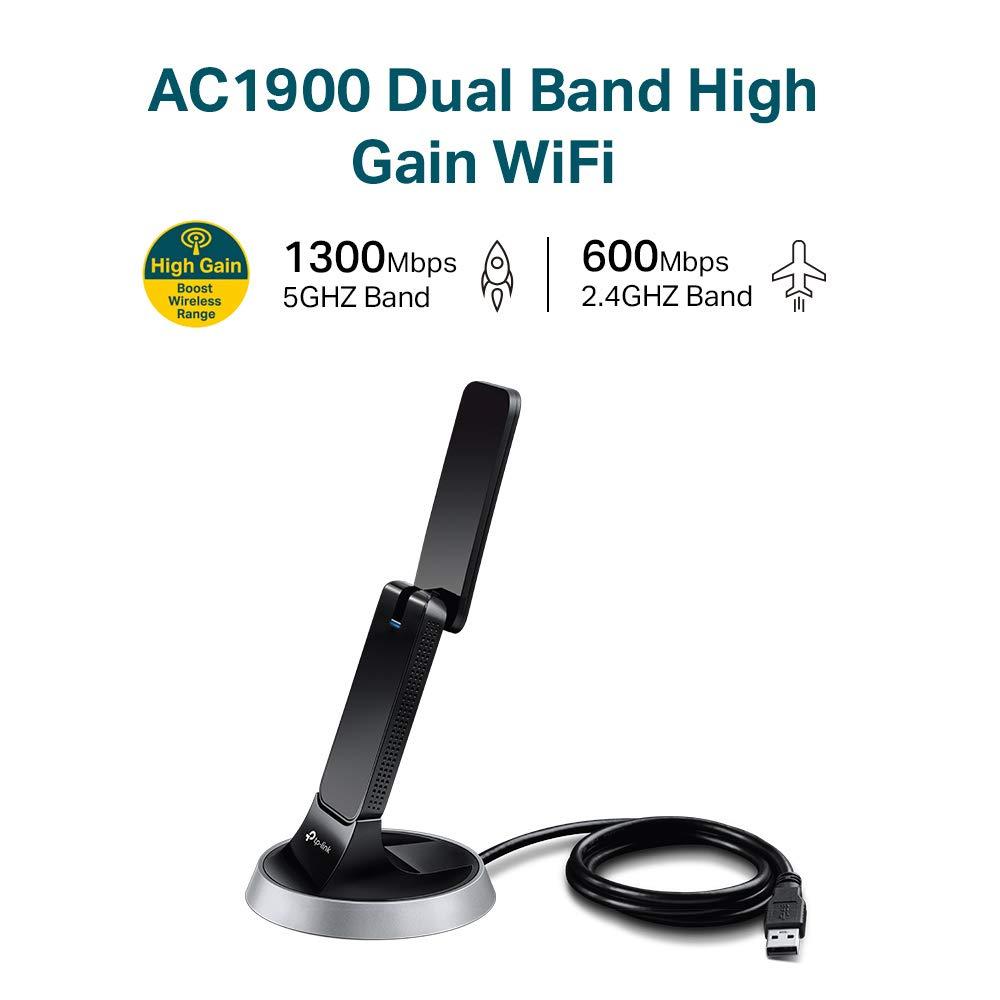 TP-Link Archer T9UH - Adaptador (AC1900, Wi-Fi, USB): Tp-Link: Amazon.es: Informática