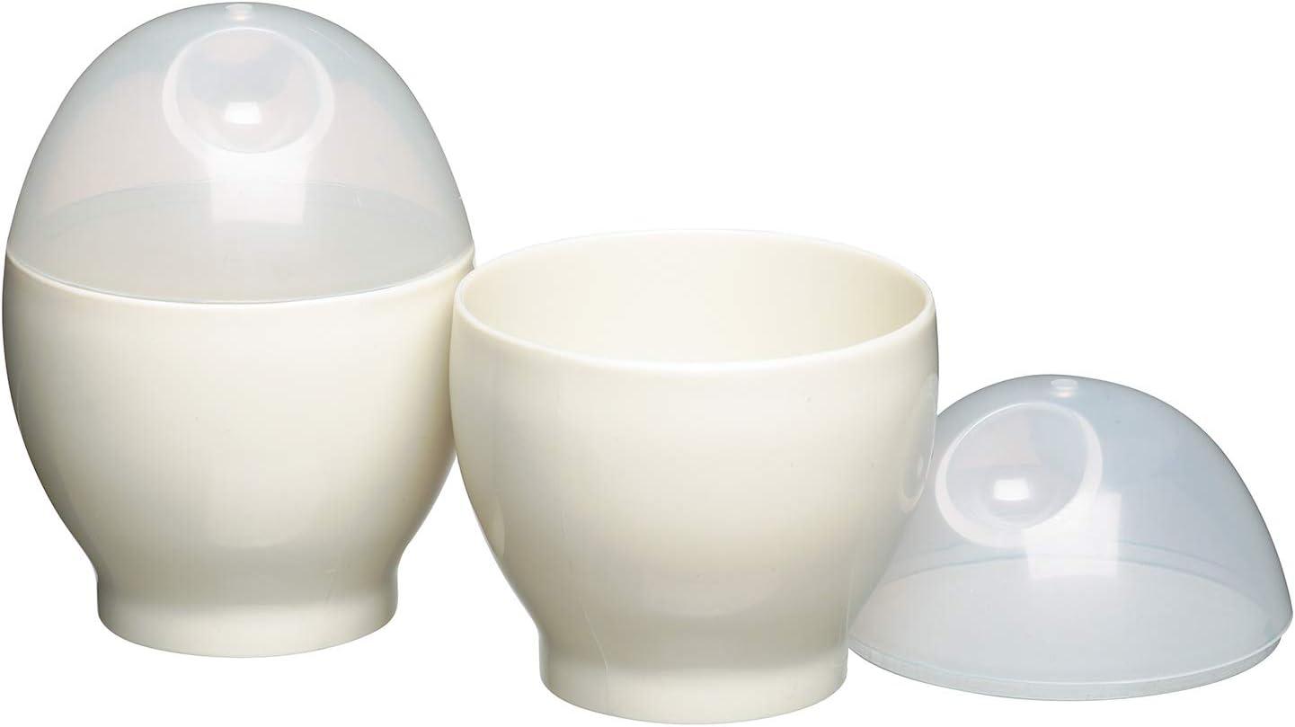 Micro Cook Cocedor de huevos para microondas, 2 unidades): Amazon ...