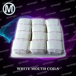 M is magic Magic Trick White mouth coils 12 pieces per pack