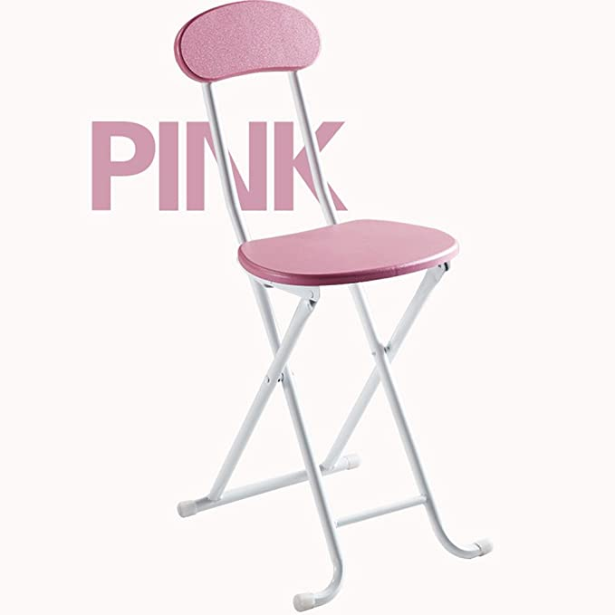 Amazon.com: GYM Fold Stool Chair Home bar Stool Dining Chair ...