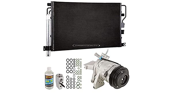 AC Compressor w//A//C Condenser Drier For Chevy Equinox GMC Terrain 2010 2011