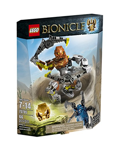 LEGO Bionicle Pohatu - Master of Stone Toy Bionicle Blue Figure