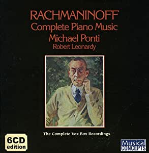 Rachmaninoff : Complete Piano Music