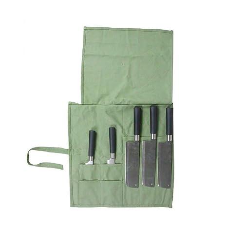 HANSHI - Bolsa de Almacenamiento para Cuchillos de Chef, 7 ...