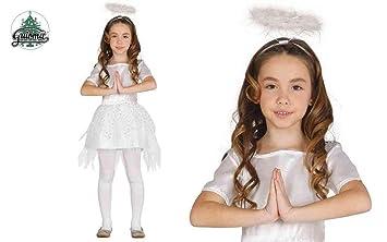 GUIRMA Traje ángel niña, Color Blanco, 3 - 4 años, 41582 ...