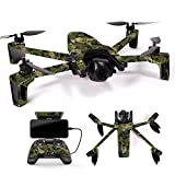 MightySkins Skin for Parrot Anafi Drone - Viper Woodland | Protective, Durable, and Unique Vinyl Decal wrap Cover | Easy to Apply, Remove, and Change Styles | Made in The USA