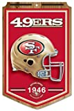 NFL San Francisco 49ers 68775011 Wood Sign, 11'' x 17''