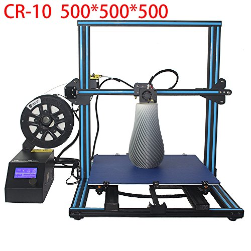 Creality CR-10 S5 3D Printer DIY Kit With 2kg CCTREE PLA Filament Large Printing Size 500x500x500mm by Creality 3D