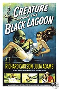 CREATURE FROM THE BLACK LAGOON MOVIE POSTER 27x41 in by HSE