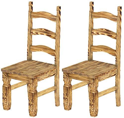 Enjoyable Amazon Com Brazilfurniture Chair Mexico Solid Pine Burned Uwap Interior Chair Design Uwaporg