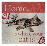 Kitchen Towels - Home is Where Your cat is