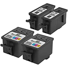 Speedy Inks - Compatible Kodak #30XL Set of Ink Cartridges 1550532 & 1341080 2 Black 2 Color for use in ESP C310, Office 2170, Office 2150, C315 All-in-One, 3.2, C110, Hero 4.2, 5.1, 3.1