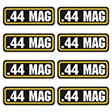 44 mag bullet holder - 44 MAG ammo sticker 8 PACK - LAMINATED Can Box Vinyl Decal bullet ARMY Gun safety Hunting label