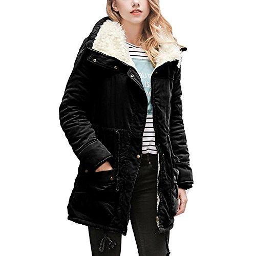 Faux Fur Classic Coat - 4