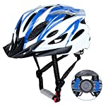 DesignSter-Casco-Bicicleta-Unisex-Adulto-Unisexo-Ajustable-57-63-cm-con-Visera-y-Forro-Desmontable-Especializado-para-Ciclismo-de-Montana-Motocicleta