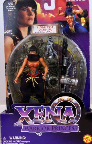 Xena - Warrior Princess - Action Figure - Xena - in Harem Outfit - 5 / 13 cm by (Xena Outfit)