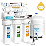 100 gpd ro system - Express Water RODI10D 6 Stage Deionization + Reverse Osmosis Drinking Water Filtration System 100 GPD RO Membrane DI Resin Mixed Bed Ion Exchange Filter Residential Under Sink