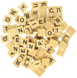 500 Wood Pieces - 5 Full Sets of 100 Letters