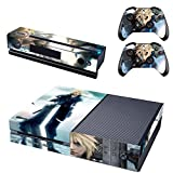 Vanknight Vinyl Decal Skin Stickers Cover Anime Final Fantasy VII for Xbox One Console Kinect 2 Controllers