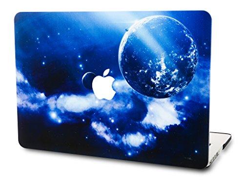 KEC Laptop Case MacBook Air 11 Plastic Case Hard Shell Cover A1465 / A1370 Space Galaxy (Earth)