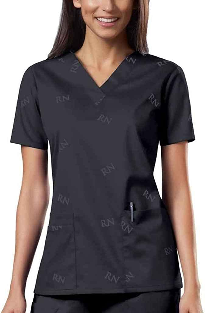 WorkWear 4733 Women's V-Neck Scrub Top