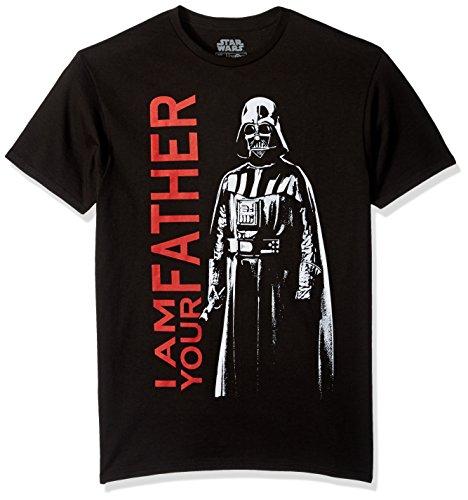 Star Wars Men's Darkest Family Short Sleeve T-Shirt, Black, X-Large