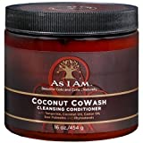 Cleansing Conditioner - As I Am Coconut Cowash Cleansing Conditioner, 16 Oz (Pack of 3)