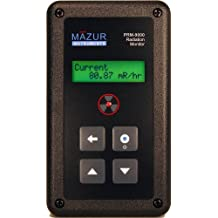 Mazur Instruments PRM-9000 Geiger Counter and Nuclear Radiation Contamination Detector and Monitor