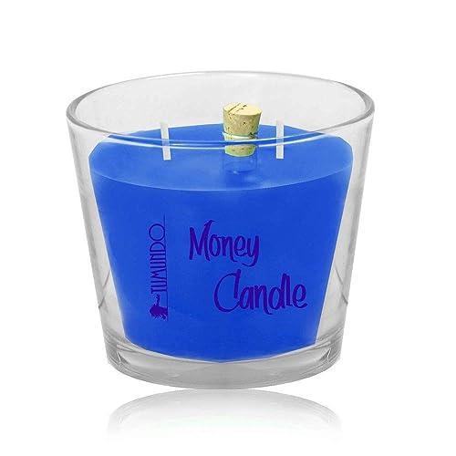 tumundo Dinero Vela en el Vaso Perfumada Money Candle Regalo ...