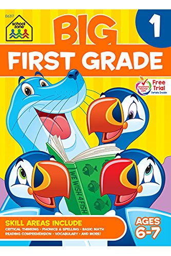First Grade Big Workbook! (Ages 6-7): Wendy Colsen, Barbara Bando ...