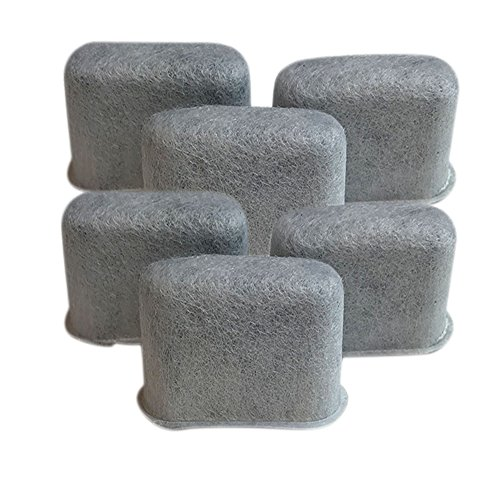 6 Replacements for Capresso Charcoal Coffee Filters Fit 4640.93, TEAM TS # 465, by Think Crucial by Think Crucial