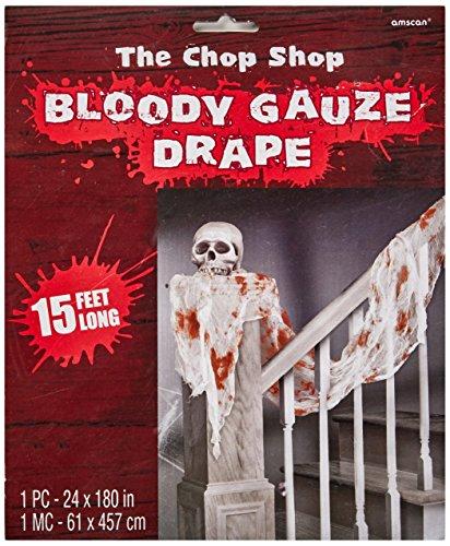 Bloody Gauze Drape | Halloween Decor -