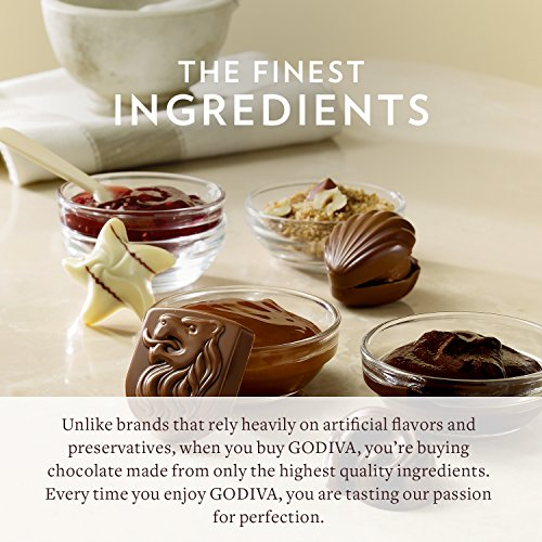 Godiva Chocolatier 36 Individually Packaged, 2-Piece Belgian Chocolate Gold Ballotins, Perfect for Bridal Showers - Parties - Wedding Favors by GODIVA Chocolatier (Image #6)