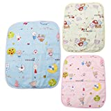 Kalttoy Baby Infant Diaper Nappy Urine Mat Kid Waterproof Bedding Changing Cover Pad (blue)