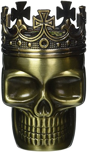 1-X-Fab-Detailed-Crowned-King-Skeleton-Skull-Design-Novelty-Metal-Spice-Grinder-Pollen-Screen