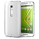 Motorola Moto X Play Case, iVoler Ultra [Slim Thin] Scratch Resistant TPU Rubber Soft Skin Silicone Protective Case Cover for Motorola Moto X Play Cases[Crystal Clear]